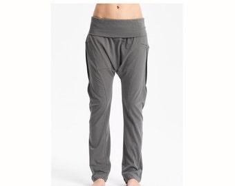 Arya Military Green Yoga Pants / Drop Crotch Pants / Casually Harem Pants / Cottoned Yoga Pants / Yoga Wear by AryaSense / PDCW16MGN
