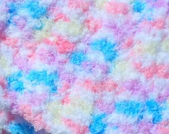 Soft Infant Afghan, Baby Crochet Blanket, Soft Photo Prop, Small Blanket, Warm Crochet Afghan, Newborn Stuff, Heavy Blanket, Crochet Item