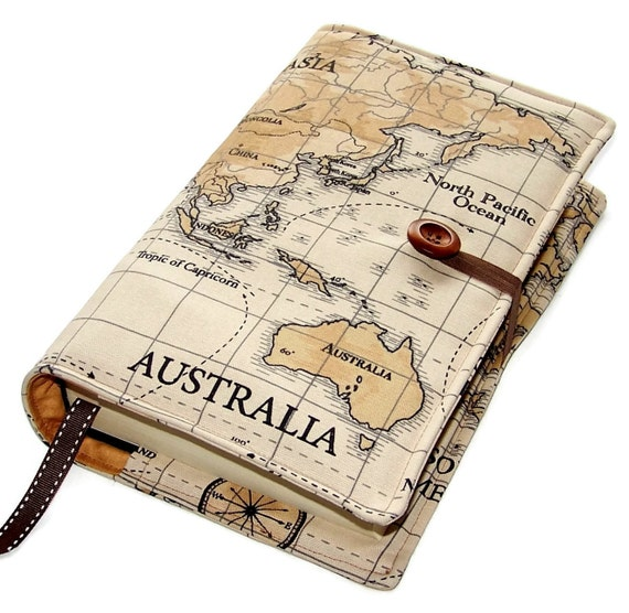 Large bible cover in world map fabric featuring australia gumiabroncs Gallery