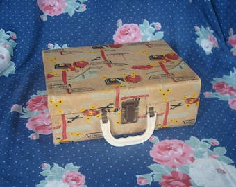 Sale ~~ Kids Suitcase Traveling Luggage for Children Pretend Play Bag Decorating Case Photo Prop