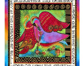 Laurel Burch Fabric Enchantment 1 Panel Y1967-56M