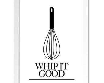 Funny Kitchen Art, Kitchen Wall Art, Kitchen Wall Decor, Kitchen Decor, Modern Kitchen Prints, Kitchen Art Prints, Whisk Kitchen Print