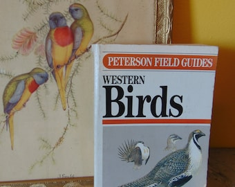 Peterson Field Guides  Western Birds  1961   Roger Tory Peterson   OOP