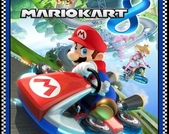 Per Panel, Nintendo Mario Kart Fabric Panel From Springs Creative