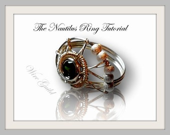 The Nautilus Ring - A Wire Wrap Tutorial