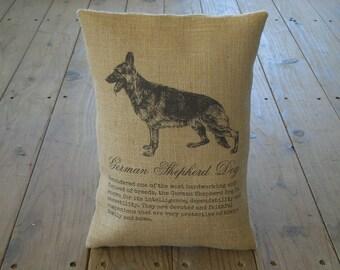 Dog pillow dog lovers pillow woof pillow accent pillow