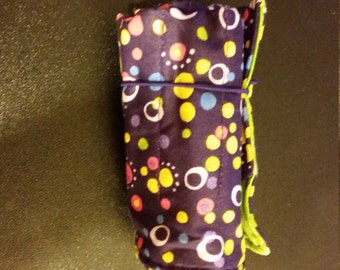 Bright Dot Crayon Roll Up
