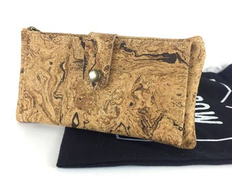 Unisex Cork Wallet, Vegan Leather, Vegan wallet, Eco and Sustainable Product, Vegan Leather, Christmas Gift