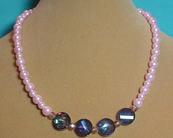 18 inches of Pink Perfection and Glitz to Glamorize your Wardrobe! - S013