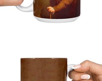 Steve Buscemi Ducreux Big 15oz mug | Coffee mug | Humor mug | Meme mug | Funny mug | Gift for Him | Gift for her | 4MW014