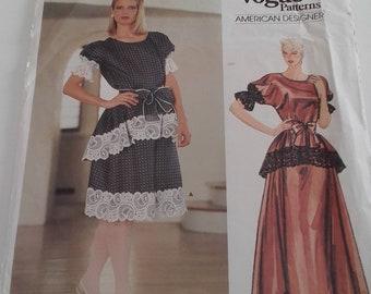 Geoffrey Beene vintage 80's sewing pattern