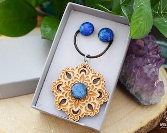 Fairy Tale jewelry set - Blue Boho