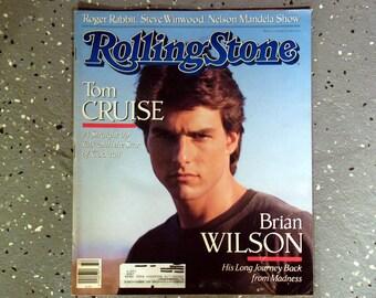 Tom Cruise - Rolling Stone Magazine Issue# 532 - 1988