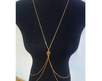 Gold Body Chain | Body Chain Jewelry | Body Chain | Body Chain Necklace | Body Jewelry | Gifts for Her|