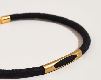 Textile Choker Necklace