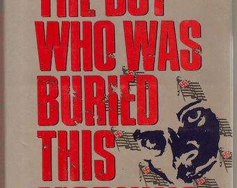 Signed Joseph Hansen The Boy Who Was Buried This Morning 1990 HC 1st Dave Brandstetter Mystery