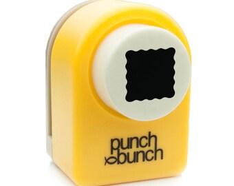 Scalloped Square Punch - Medium 14mm