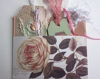 Spring Roses Stuffed Pocket