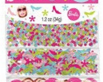 Barbie ''All Doll'd Up'' Confetti Value Pack (3 types)