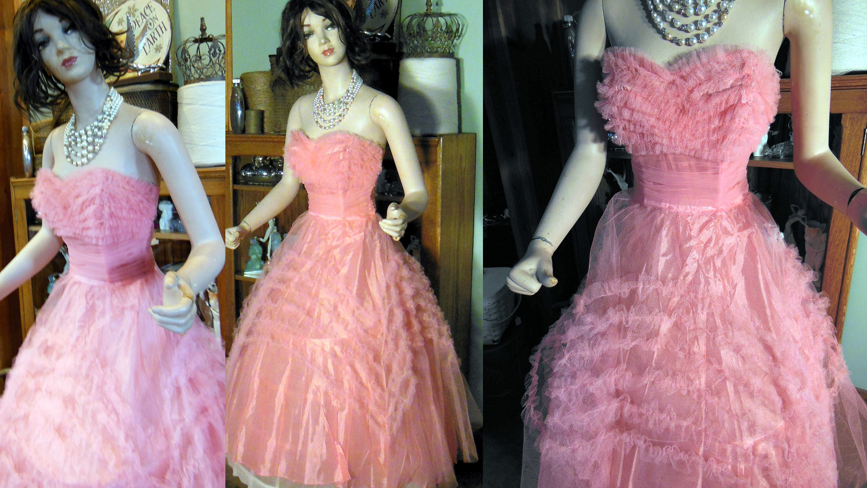 Outstanding Grease Prom Dress Ornament - Colorful Wedding Dress ...
