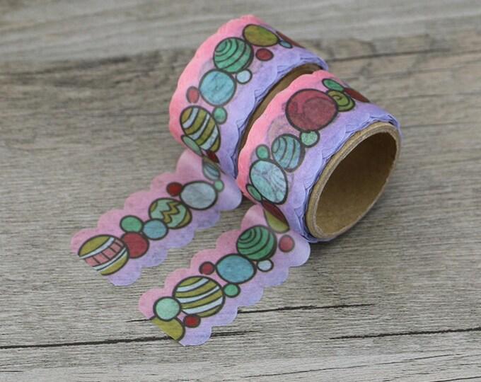 Washi Tape - Polka Dots Washi Tape - Dots Washi Tape - Paper Tape - Planner Washi Tape - Washi - Decorative Tape - Deco Paper Tape