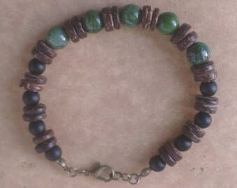 Bracelet - Earth and fire - mens