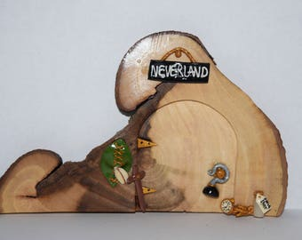 Magical Other World Neverland Fairy Door - Hand Crafted by Mary-Beth Originals