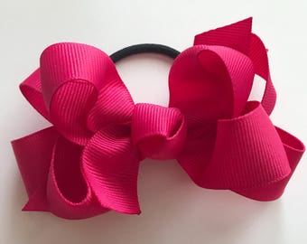 Double Boutique Bow (4 inch)
