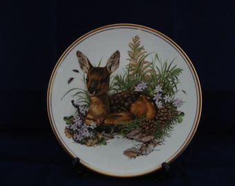Decorative plate Bambi