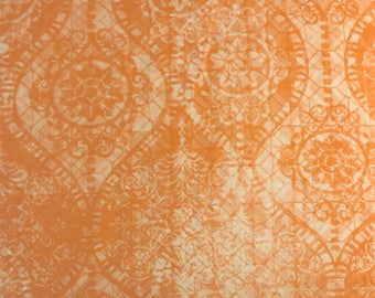 "PWFS027 Free Spirit Design Loft Chiffon Purity Peach 18"" BTHY Quilt Fabric Westminster Fibers Designer Quilting Sewing Boutique Tonal New"