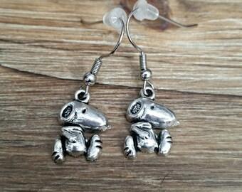Snoopy Dog Charm Earrings