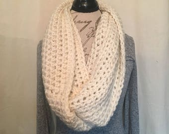 Winslow Infinity Scarf | Cream | Extra Long