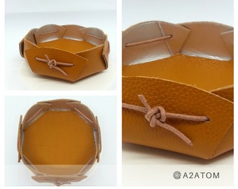 Camel leather - craft upcycling french Oddments