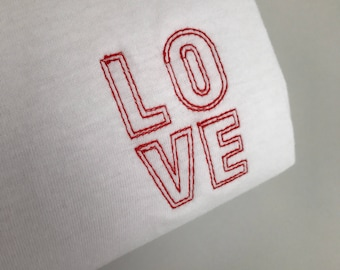 LOVE - Embroidered T-Shirt
