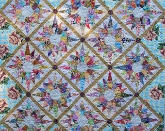 Supernova Leftovers quilt pattern