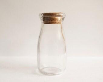 Mini Milk Bottle set of 2 from the Tiny House Farm