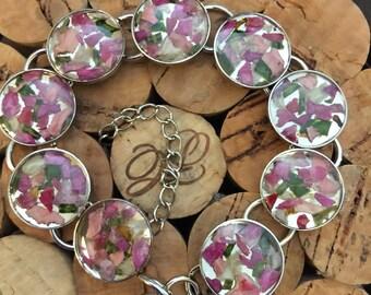 Flower Petal Bracelets
