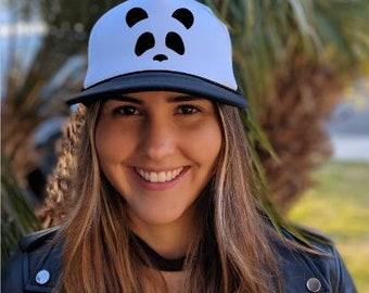 Panda snapback hat