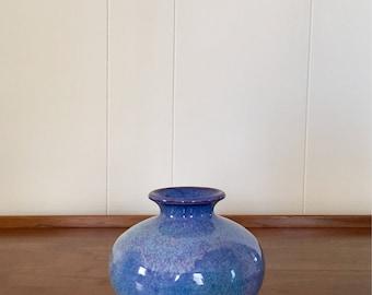 Vintage Studio Pottery Vase - Artist Signed