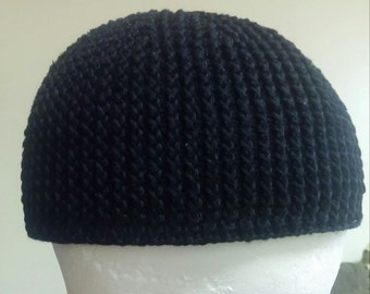 """This listing is for the pattern for the beanie called """"blackened ribs""""."""