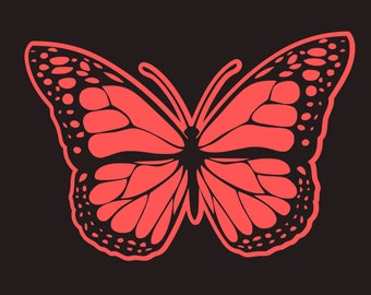 Butterfy SVG FILE