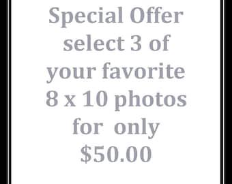Fine Art Photography, Discount on any three 8 x 10 Photos,Fine Art Prints