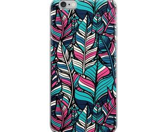 Boho Feathers iPhone Case