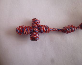 Knotted Rosary- Yankee Doodle Dandy