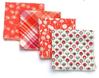 Orange Pocket Square, Plaid Pocket Square, Boys Pocket Square, Mens Pocket Square, Mens Handkerchief, Groomsman Pocket Square