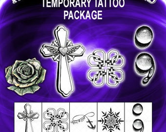 Temporary Tattoo Set-Gift Set-Gifts for Men-Tattoo Sticker-Gifts for Women-Timeless Expressions