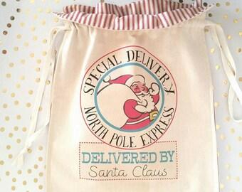 Santa bag,Santa delivery bag, Toy sack for Christmas