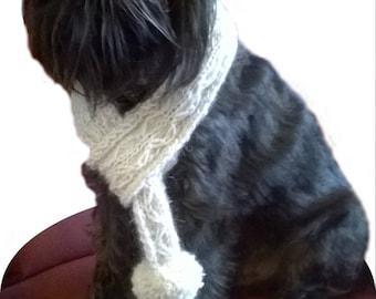 Luxury cream Alpaca Dog Scarf dog scarf, dog cowl, dog neckwarmer, dog accessories, small dog clothes puppy scarf dog scarves,greyhound cowl