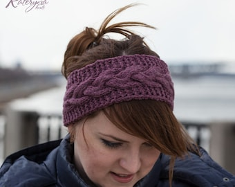 Women headband, earwarmer
