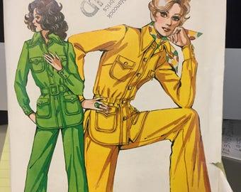 Vintage Kwik-Sew pattern 431 - women's jacket and slacks - sizes 8-10-12 - uncut